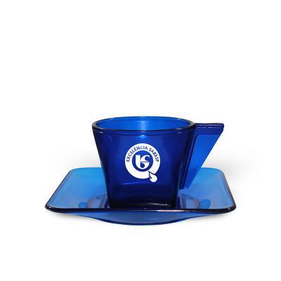 Maiz Brindes - Xícara de Café Translúcida 50ml  Capacidade de 50 ml  Material plástico PS cristal de alta resistência  Cores translúcida: Azul, Verde, Vermelho, L...