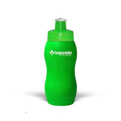 Maiz Brindes - Squeeze 250ml Resistente e Flexível com Bico de PVC Cristal Fabricante: Maiz Brindes   Squeeze de Plástico Capacidade 250ml Resistente e flexíve...