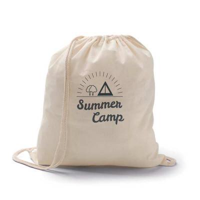 FCFIT Bolsas Thermal Bags - Sacola tipo mochila. 100% algodão. 370 x 410 mm