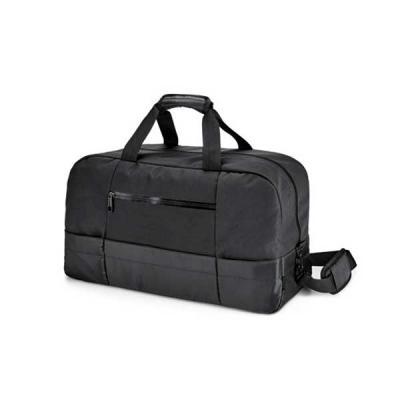 FCFIT Bolsas Thermal Bags - Bolsa esportiva. 840D jacquard e 300D. Interior forrado. Bolsos frontais e fundo com placa semi-rígida. Alça de ombro ajustável, com reforço almofadad...