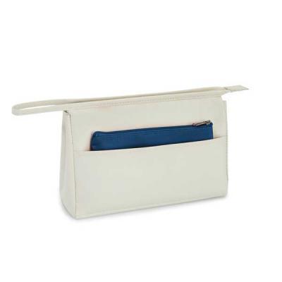 FCFIT Bolsas Thermal Bags - Bolsa de cosméticos. Microfibra. Com bolso frontal e bolsa multiusos. 230 x 150 x 70 mm | Bolsa pequena: 180 x 110 mm