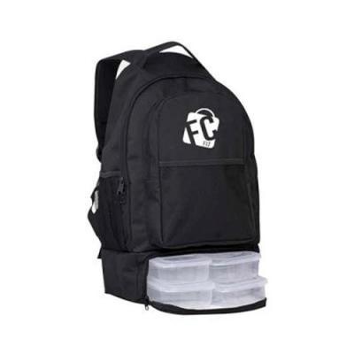 FCFIT Bolsas Thermal Bags - MOCHILA TÉRMICA PRETA // SUPREME  // O PRODUTO OFERECE Nesse modelo de marmiteira, temos a junção da mochila com o compartimento térmico, isolando ass...