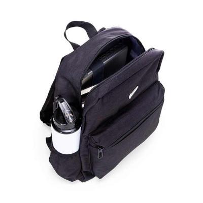 FCFIT Bolsas Thermal Bags - Mochila de nylon com plaquinha para gravação. Compartimento grande com bolso interno para notebook de revestimento poliester e bolso frontal. Possui b...