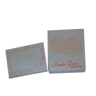 Croma Microencapsulados - Stick Pad / Bloco de anotação perfumado / Bloquinho sticky notes perfumado.