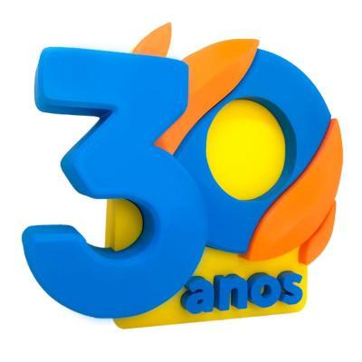 Oaloo - Troféu Logo 3D Personalizado