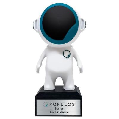 Oaloo - trofeu-personalizado-astronauta-3d-oaloo
