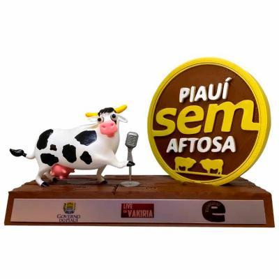 Oaloo - Troféu Personalizado Vaca 3D