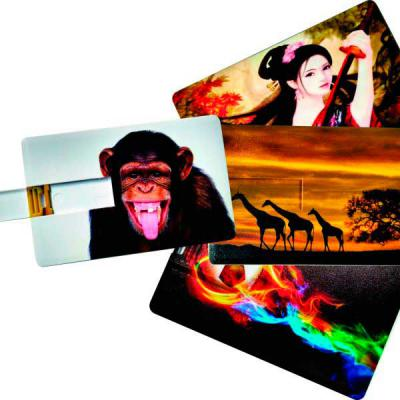 Renova Brindes - Pen card com capacidade de 4GB, 8GB, 16GB E 32GB, gravação digital sem limites de cores nos 02 lados, muito mais qualidade na gravação de seu arquivo...