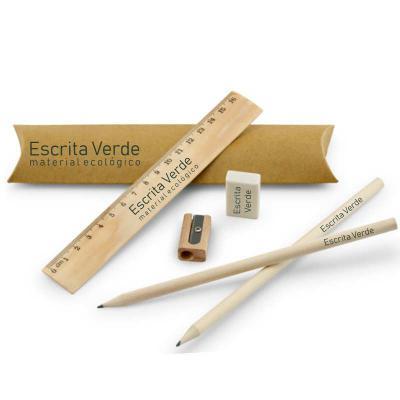 Zoom Brinde - Kit Escritório Ecológico