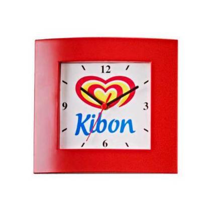 Zoom Brindes - Relógio de Parede vermelho