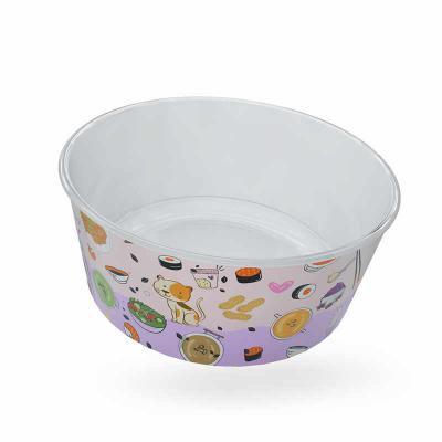 Plasmold - Tigela Bowl personalizado in mold Label
