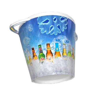 Plasmold - Balde de gelo personalizado In mold label