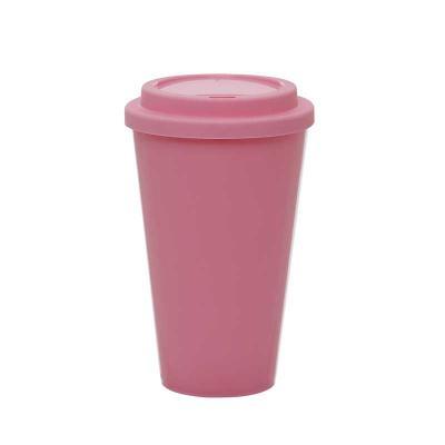Plasmold - Copo Café Bucks com tampa