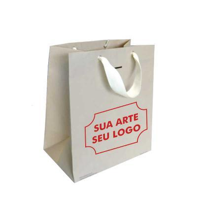 A&B Kits Corporativos - SACOLA DE PAPEL PERSONALIZADA