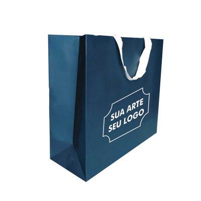 A&B Kits Corporativos - Sacola de Papel Personalizada , papel offset 180gr, até 4 cores de impressão, diversos tamanhos. Coloque sua arte seu logotipo em nossas sacolas e emb...