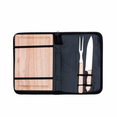 A&B Kits Corporativos - Kit churrasco 2 peças com tábua