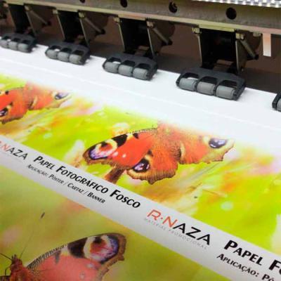 Rnaza Prana Material Promocional - Adesivo com impressão digital de alta definição