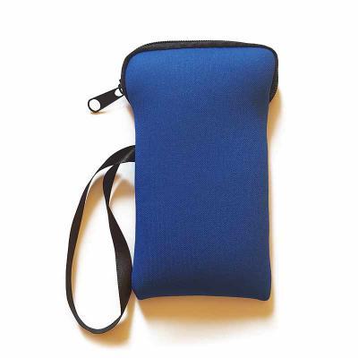 Rnaza Prana Material Promocional - Capa de celular em neoprene com zíper e alça