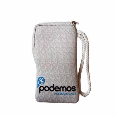 Rnaza Prana Material Promocional - Porta celular / cartão de crédito / documento