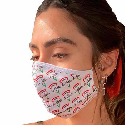Rnaza Prana Material Promocional - Máscara de proteção em tecido