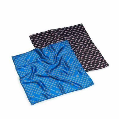Rnaza Prana Material Promocional - Lenço personalizado em cetim de poliéster