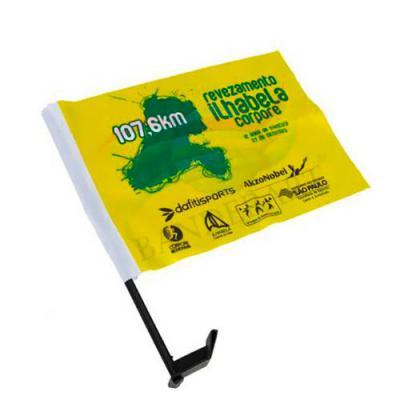 Rnaza Prana Material Promocional - Bandeirinha para carro em tecido