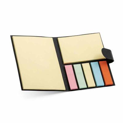 Rnaza Material Promocional - Caderno (bloco de anotações) com 7 sticky notes adesivados