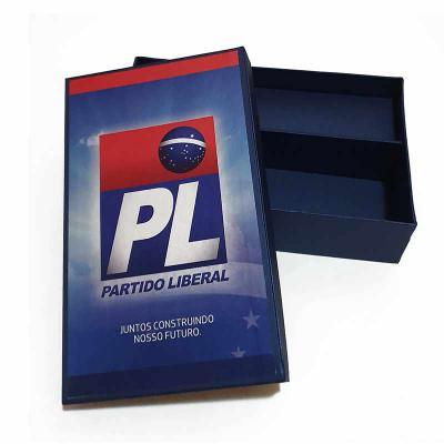 Rnaza Prana Material Promocional - Embalagem em cartão rígido com impressão de alta qualidade