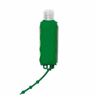 Over Brindes - Porta álcool gel, material emborrachado com capacidade para frasco de 60ml. Observação: NÃO ACOMPANHA FRASCO.  Brinde corporativo ideal para divulgaçã...