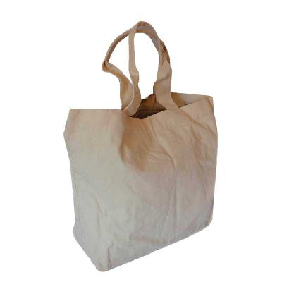 KCB Acessórios - Bolsa de lona, alça no material, forro de nylon, bolso interno basculante com zíper, Medidas: 39X39X17 cm