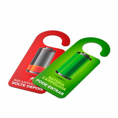 Beek Geek's Stuff - Avisos de Porta em PVC