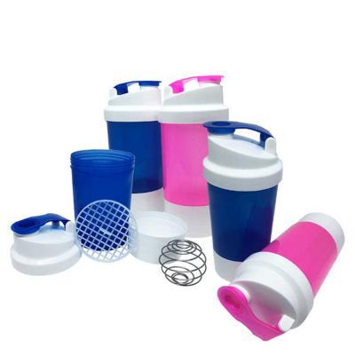 Coqueteleiras Health Plast - COQUETELEIRA DUPLA Coqueteleira dupla detalhada. Moderna, leve, durável e personalizável.