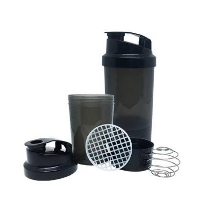 Coqueteleiras Health Plast - Ela permite transportar de forma segura os suplementos em pó ou cápsulas, para fazer a mistura no momento desejado, proporcionando muito mais praticid...