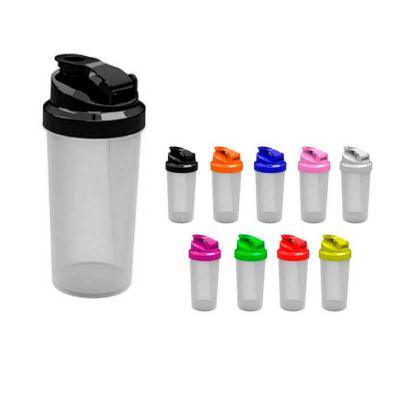 Coqueteleiras Health Plast - COQUETELEIRA TRANSPARENTE Fabricada em polipropileno (PP), atóxico e BPA free. Gravação em silk screen (tinta UV alto relevo). Cores de Tampa: Amarela...