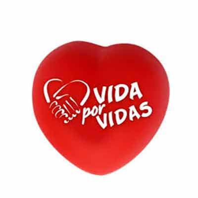 Leo Brindes Personalizados - Coração anti-stress personalizado