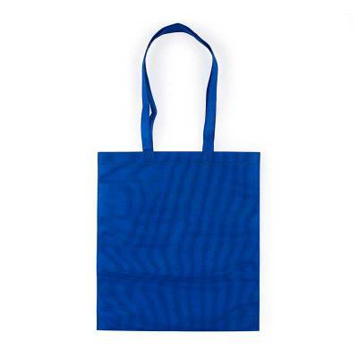 Leo Brindes Personalizados - Sacola TNT colorida com alça , possui símbolo ecológico/reciclável na costura da alça.  Altura: 41,2 cm  Largura :  37,2 cm  Medidas aproximadas para...