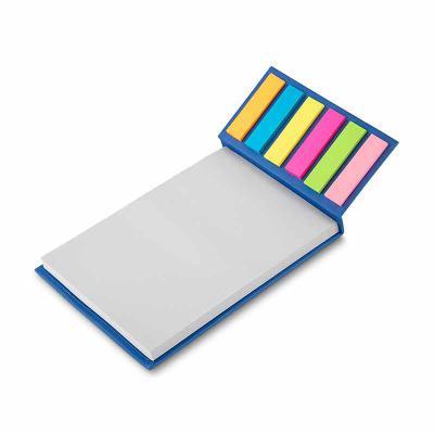 Qmais Promo - Bloco de anotações com sticky notes