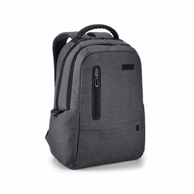 Qmais Promo - Mochila para notebook. Nylon 2Tone impermeável. Com 2 compartimentos. Compartimento posterior forrado, com bolso interior com zíper e divisória almofa...