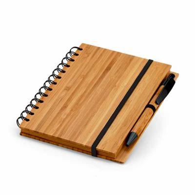 Nazartes Brindes - Caderno Bambu personalizado