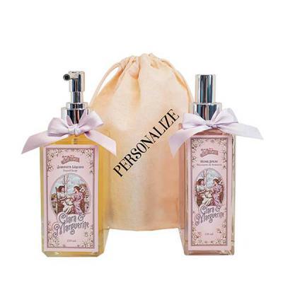 De La Merche - Home spray e sabonete líquido Clara & Marguerite em sacolinha de algodão