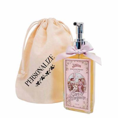 De La Merche - Sabonete líquido Clara & Marguerite em sacolinha de algodão