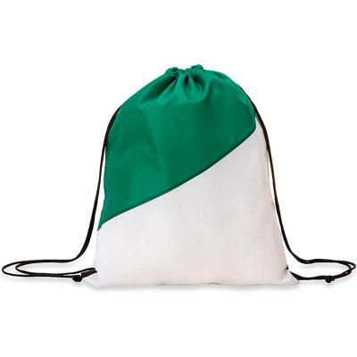 EV Brindes - Mochila saco confeccionada em nylon com detalhe branco na parte inferior e alças ajustáveis para as costas. Fabricamos com medidas exclusivas consulte...