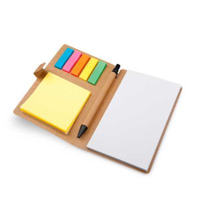 EV Brindes - Caderno com sticky notes