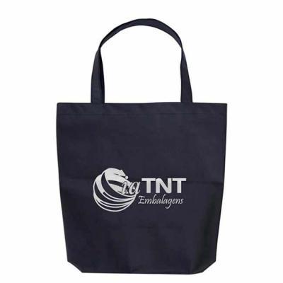 EV Brindes - Sacola de TNT. Diversos tamanhos e cores. Fabricamos em várias gramaturas de TNT e medidas. Sacola 100% costurada. Personalização: Serigrafia ou etiqu...