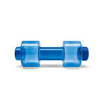 EV Brindes - Squeeze (formato de peso de academia). PC. Capacidade 550 ml.  Medida: 80 x 210 mm Personalização: silk(Consulte gravação de acordo com o material esc...
