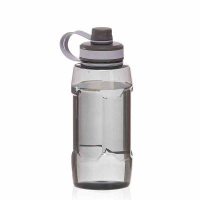 ArtPromo - Garrafa plástica com alça de mão, tampa e bico rosqueável. Capacidade 1.500ml.