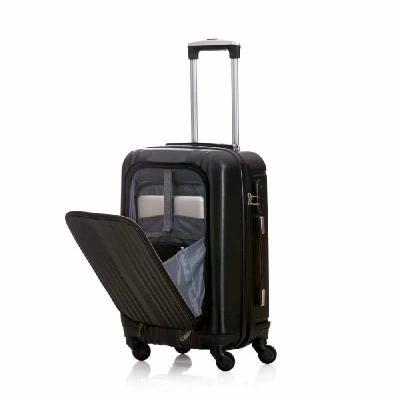 ArtPromo - MV700 MALA DE VIAGEM  Mala de viagem com rodinha, Compartimento externo com três bolsos, e abertura com ziper para acesso ao interior da mala, Rodinha...