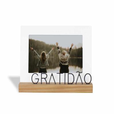 ArtPromo - PORTA RETRATO 13X18CM GRATIDÃO