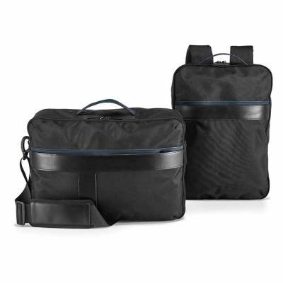 ArtPromo - A DYNAMIC Backpack é uma mochila urbana que se distingue pela sua versatilidade e dualidade. O seu design eficiente permite-lhe que seja um objeto úni...