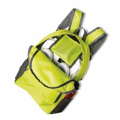 ArtPromo - Mochila dobrável de 25 litros confeccionada em nylon impermeável. Compacta e com abertura prática, possui compartimento principal com pequeno bolso in...